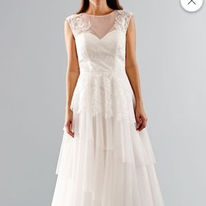 Absolute final pricJCPenny ivory wedding gown NWT